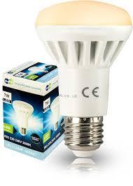 calex led light bulbs r63 led 7w e27 replacment for reflector r63 led light bulb energy