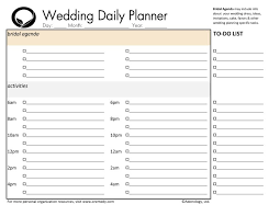 wedding day planner downloads oremedy get organized be successful