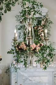 8 floral chandelier designs for your wedding reception décor