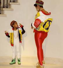 Beyonce Halloween Costumes Beyoncé Blue Ivy U0026 Tina Lawson Dressed Salt Pepa