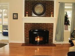 awesome brick fireplace insert part 4 but this spring once we