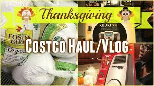 costco haul vlog thanksgiving edition