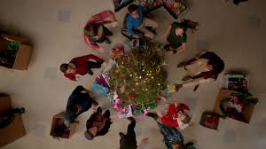 Christmas Tree Sing Rockin U0027 Around The Christmas Tree Glee Tv Show Wiki Fandom