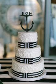 anchor wedding cake topper 12 anchor themed wedding cakes photo nautical themed wedding