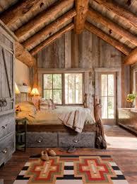 chambre à coucher rustique 26 idées déco chambre à coucher de style rustique cabin tiny