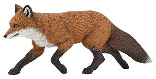 amazon com papo wild animal kingdom figure fox toys u0026 games