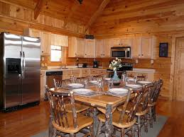 15 off nov dates perfect location homeaway sevierville log dining set