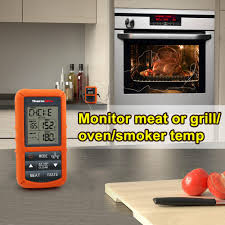 Backyard Grill Wireless Thermometer by Thermopro Tp20 Wireless Remote Digital Cooking Food Meat