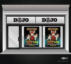 Monster Halloween Store by Halloween Monster Proof Window Decals Muscle