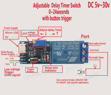 Jual Timer Dc time delay relay ebay
