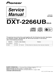 pioneer dxt 2266ub wiring diagram wiring diagram and schematic