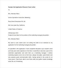 Letter For Job Application With Resume by Application Letter For A Cashier Post
