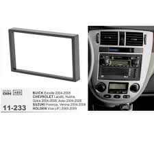 11 233 top quality car dvd radio fascia for buick excelle