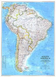 map of south america south america map