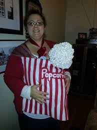 18 Popcorn Costume Images Popcorn Costume Funny Parent Child Halloween Costumes Trick Treating Epic