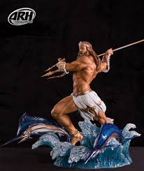 arh studios greek mythology poseidon