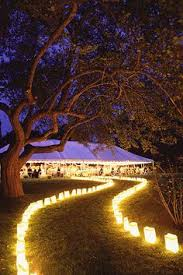 How To Do Landscape Lighting - how to throw a perfectly organized diy wedding in your backyard