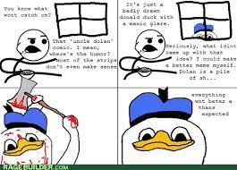 Dolan Duck Meme - rage comics dolan and friends rage comics rage comics