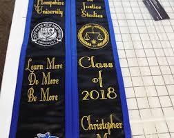 cheap graduation stoles stole etsy