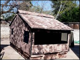Ground Blind Plans Suggestions Online Images Of Homemade Hunting Ground Blinds
