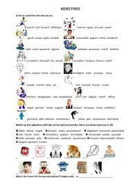 adjectives in french by anyholland teaching resources tes