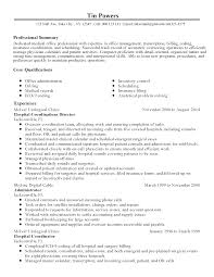 Medical Office Resume Templates Medical Office Resume Resume Template For Medical Office Sample