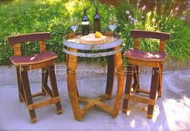 Barrel Bistro Table Woodworking Talk Woodworkers Forum Warner S Album Wine