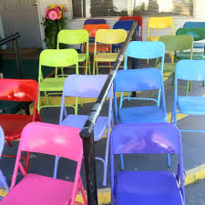 Church Chairs 4 Less The Director Of Our Children U0027s Church Spray Painted Those Old