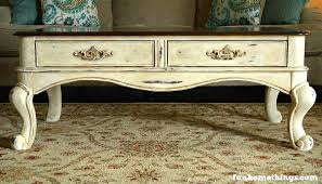 Painted Coffee Table Chalk Paint Coffee Table Makeover Home Things