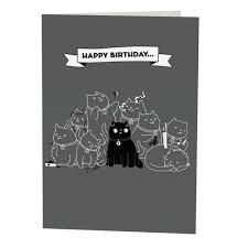 happy birthday ecards free open me cat birthday ecards