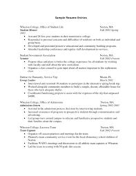 New Resume Format 2017 Sample College Resume Template 2017 Resume Builder