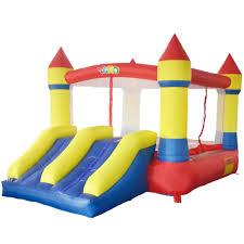 yard 6008 bouncy castle bounce house inflatable bouncer dual slide