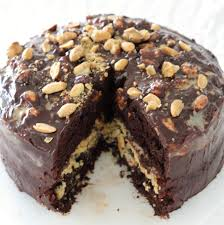 homemade u201csnickers u201d chocolate cake this is a decadent chocolate