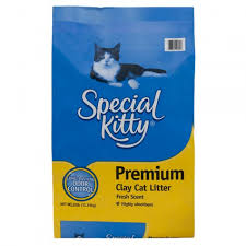 special kitty fresh scent premium clay cat litter 25 lb shoptv