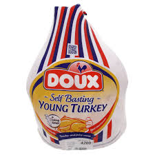 frozen whole turkey meat poultry doux frozen whole turkey 4 2kg