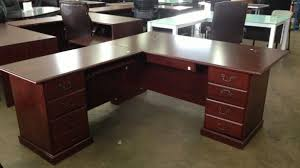 Used L Shaped Desk Brilliant Used L Shaped Desk For Office Source With Hutch Ofw