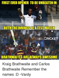 Remember The Name Meme - first ever opener to be unbeaten in digicel both match