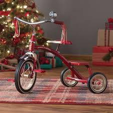 radio flyer tricycle dual deck red classic traditional ride on