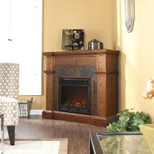 fireplace stylish stone corner electric fireplace for you