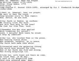methodist prayer methodist hymn heal us immanuel hear our prayer lyrics with pdf