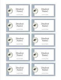 graduation name cards graduation name cards textures design 10 per page office