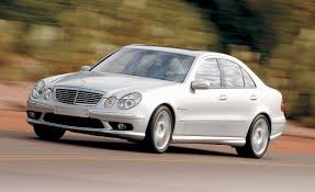 2003 mercedes e55 amg mercedes e55 amg road test reviews car and driver