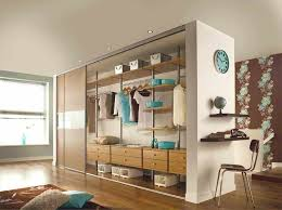 wardrobes organizations using pax wardrobe as room divider diy
