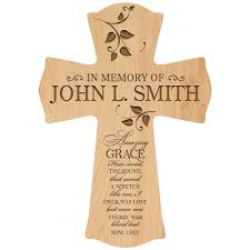 in loving memory personalized gifts in loving memory personalized wall cross in memory of memorial