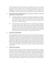 sample subsale agreement company u0026 company