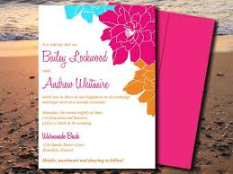 wedding invitations island wedding invite microsoft word template island blooms
