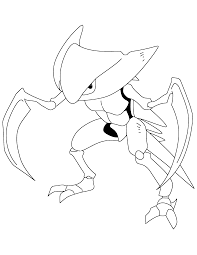 scyther pokemon printable coloring pages coloring pages kids