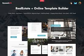 Template Real Estate by Realestate Online Template Builder Email Templates Creative