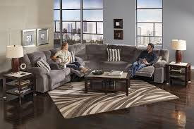 Small Leather Sofas For Small Rooms by Furniture Create Your Living Room With Cool Sectional Recliner