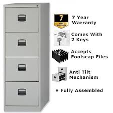 Bisley Filing Cabinet 4 Drawer Steel Filing Cabinet Lockable Grey Trexus By Bisley